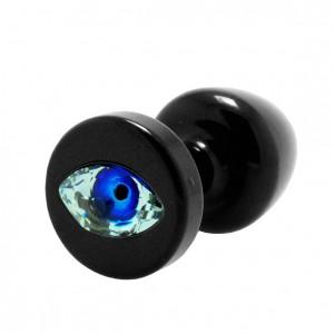 Diogol - Anni R Butt Plug Eye Black Crystal Black 30 mm