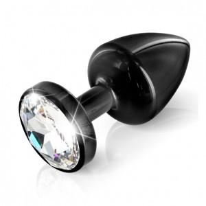 Diogol - Anni Butt Plug Round Black 25 mm