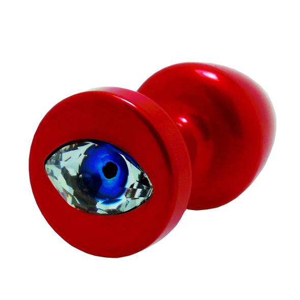 Diogol - Anni R Butt Plug Eye Red Crystal Red 30 mm