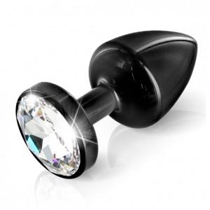 Diogol - Anni Butt Plug Round Black 30 mm