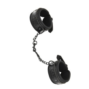 WHIPSMART DIAMOND HAND CUFF BLACK