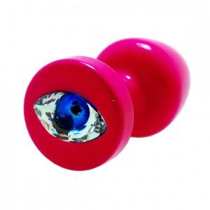 Diogol - Anni R Butt Plug Eye Pink Crystal Pink 30 mm