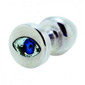 Diogol - Anni R Butt Plug Eye Silver Crystal Silver 30 mm