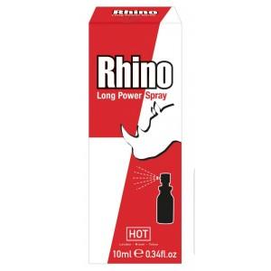 Dzimumlocekļa sprejs vīriešiem HOT Rhino Long Power Spray 10ml