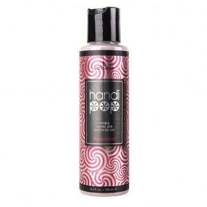 Sensuva - Handipop Hand Job Massage Gel Strawberry 125 ml