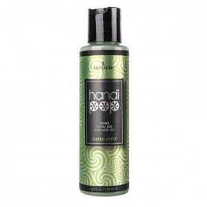 Sensuva - Handipop Hand Job Massage Gel Green Apple 125 ml