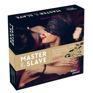 Master & Slave Bondage Game Beige (NL-EN-DE-FR-ES-IT-SE-NO-PL-RU)