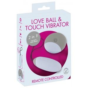 RC Love Ball & Touch Vibrator