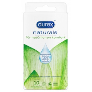 Durex Naturals Pack of 10