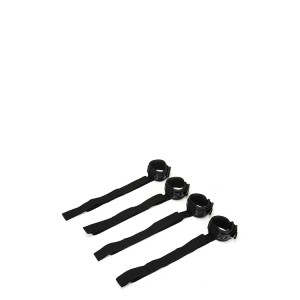 WHIPSMART DIAMOND BED RESTRAIN KIT BLACK