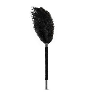 NOIR SOFT FEATHER TICKLER BLACK