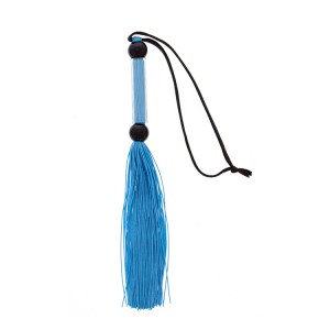 GP SILICONE FLOGGER WHIP BLUE