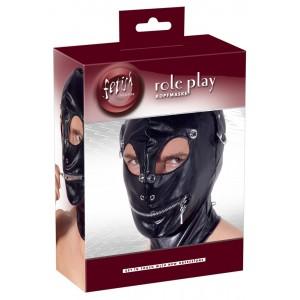 Ādas imitācijas maska fetish Collection