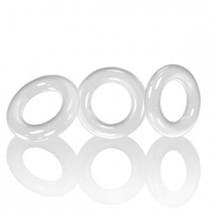 Oxballs - Willy Rings 3-pack Cockrings White