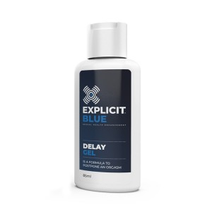 EXPLICIT BLUE DELAY GEL