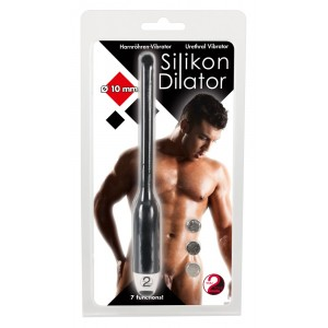 Silicone Dilator black 10 mm