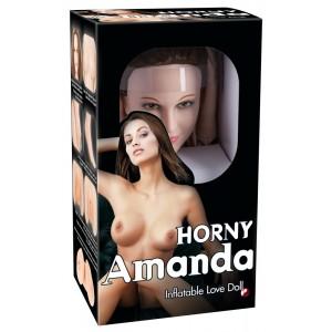 Mīlas Seksa lelle realistiskā Horny Amanda Inflatable Love D