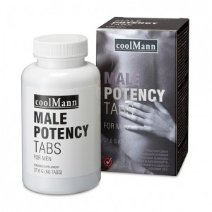 CoolMann - Male Potency Tabs 60 Tabs