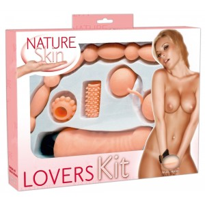 Seksa rotaļlietas komplekts Nature Skin Lovers Kit