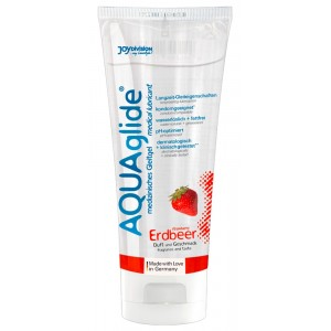 AQUAglide strawberry 100 ml