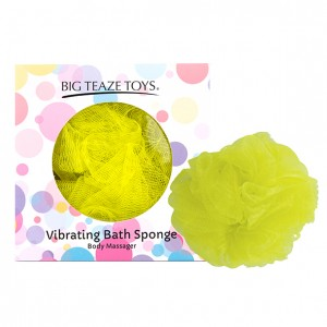 Big Teaze Toys - Bath Sponge Vibrating Yellow