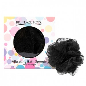 Big Teaze Toys - Bath Sponge Vibrating Black
