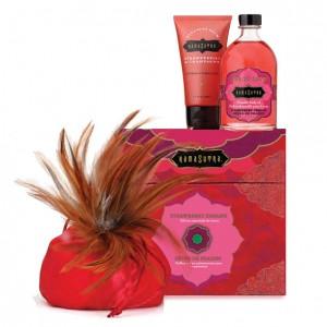 Kama Sutra - Treasure Trove Gift Set Strawberry