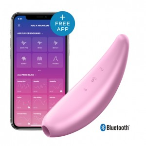 Satisfyer - Curvy 3+ Air Pulse Stimulator + Vibration Pink