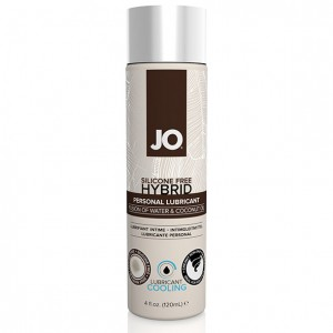 System JO - Silicone Free Hybrid Lubricant Coconut Cooling 120 ml