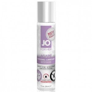 System JO - For Her Agape Lubricant Warming 30 ml